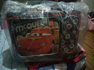 For sale: Mcqueen and Frozen stroller bags for kids. complete with lunch bag, bag rain cover. sturdy and pde upuan. Hindi pa nagagamit kasi too big para sa mga kids. selling for 3.6k each. was purchased at 3,600 each.