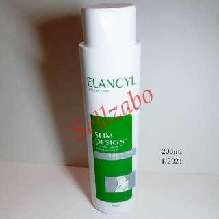 Anti Cellulite Body Cream Slimming Lotion Elancyl Slim Design 200ml Caffeine Complex Sellzabo Firm Firming Shape Shaping Figure Cream