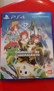 Kaset PS4 - Digimonstory Cybersleuth