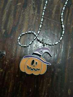 Pumpkin Necklace!