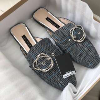 Zara flat shoes