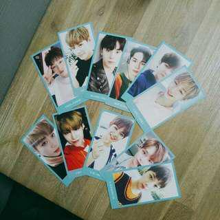 WANNA ONE Membership Kit Photocards (Full Set)