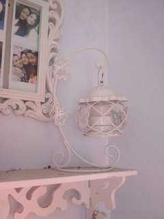 Lampion shabby chic