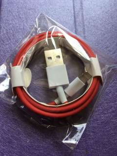 New Apple IPhone 7 Plus Red Edition Lightning Cable Original