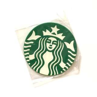 Starbucks green siren Cup Coaster