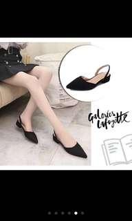 Include postage- Korean Pointed Toe Low Heels