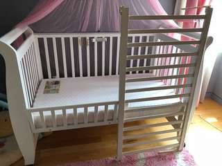 Preloved Baby Cot 0-6 years