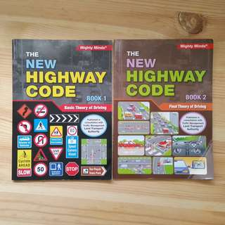 The New Highway Code Book 1 & 2 + Handbook for Motorcycle Rider Bundle