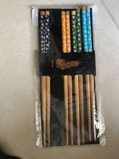 4 Bamboo Chopsticks