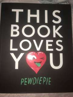 Pewdiepie : This Book Loves You