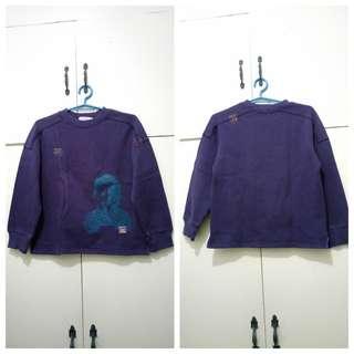 GA86 La Compagnie Purple Sweater for Girls (see pics for Measurements)