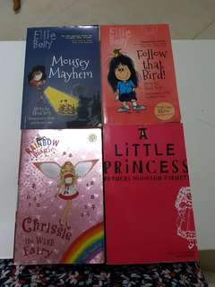 Ellie Belly Books / rainbow magic / a little princess