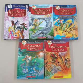 Geronimo Stilton Hardcover Storybooks / Adventure Books