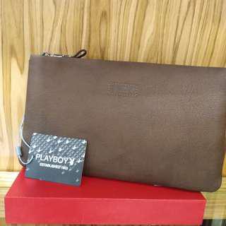 Playboy clutch bag CW1-1 (brown)