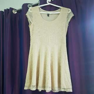 BRANDED PRELOVED Beige Dress (H&M)