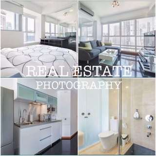 REAL ESTATE PROPERTY PHOTOGRAPHY & VIDEOGRAPHY SERVICES