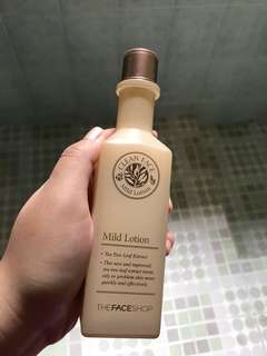 The Face Shop Mild Lotion ( good for acne )