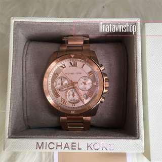 Authentic NWT Michael Kors Brecken Rosegold Stainless Watch MK6367