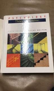 Psychology-Themes & Variations (sixth edition)