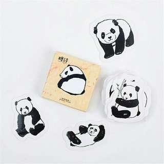 Panda Diary Stickers