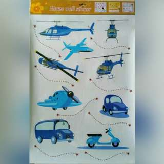 Stiker dinding Airplanes