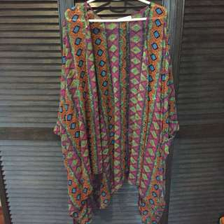 Aztec Sheer Cover up