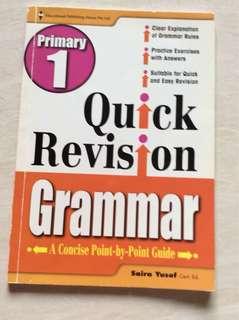 Primary 1 Grammar