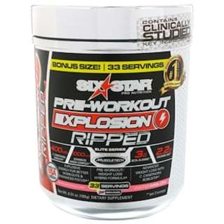 Six Star, Pre-Workout Explosion Ripped, Watermelon, 6.51 oz (185 g)