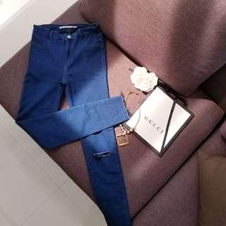 Preloved ZARA Highwaist Jeans