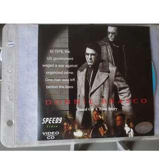 VCD - DONNIE BRASCO (1997) bio crime drama al pacino johnny depp