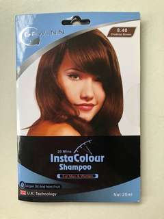 🚚 Gewinn InstaColour Shampoo - Chestnut Brown