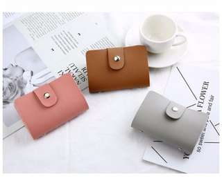 Card holder colour block series