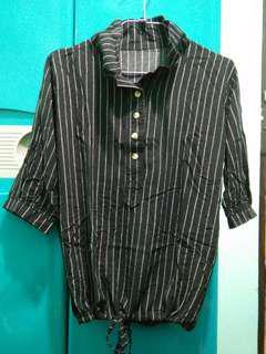 BNW stripes blouse-200