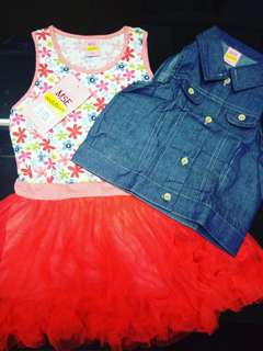 2 in 1 dress for toddlers