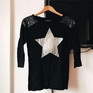 Terranova black sweater