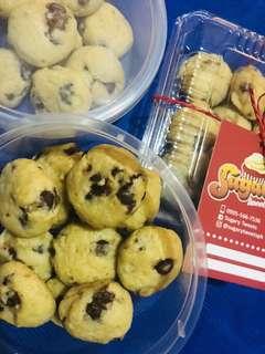 Choco Hazelnut Cookies