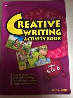 Creative writing activity book k2
