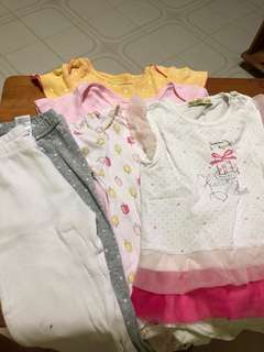 🚚 Pre loved baby girl clothes