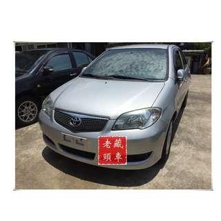 【老頭藏車 】2007 Toyota Vios『0元就把車貸回家 』『全貸,超貸,免保人』中古 二手 汽車
