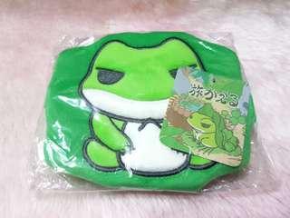 🚚 🐸日本旅行青蛙🐸旅蛙 高質感絨毛 零錢包❤