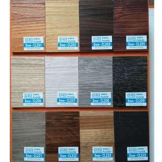 Lantai vinyl cleo berbagai macam warna