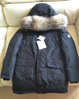 胸49-50cm 全新Moncler black down coat