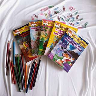 Geronimo Stilton and Thea Stilton Children's Books