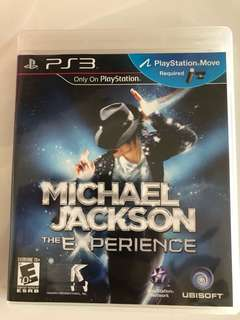 PS3 Game Micheal Jackson move
