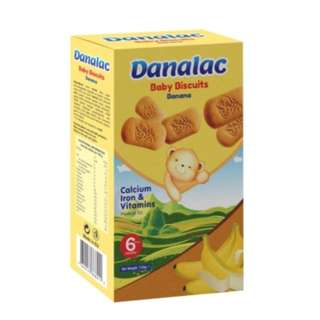 Danalac 牙仔餅 (香蕉)