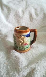 #winsb Vintage Holland Foreign Mini Stein Ceramic Mug