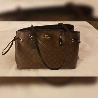 Authentic Coach Drwstrng CarryAll