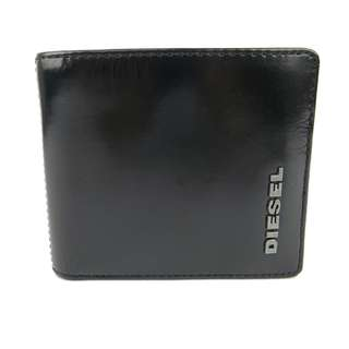 Diesel Men  Wallet(100% Original / REAL) goods in stock X01656-PS941-H4624 黑色 BLACK