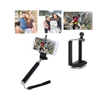Extendable Selfie Handheld Stick Monopod with Phone holder