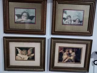 Raphael Classic Framed Cherubs and Angels